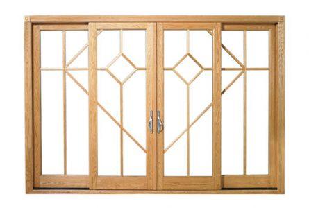 דלתות עץ אלומיניום - דלת הזזה