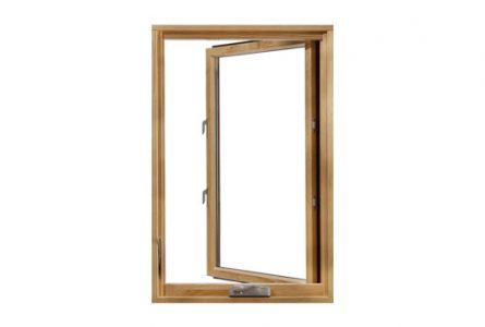 חלונות עץ מלא - חלון פתיחה החוצה